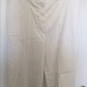 Burberry Pants - Burberry Golf White Cropped Pants 6 US